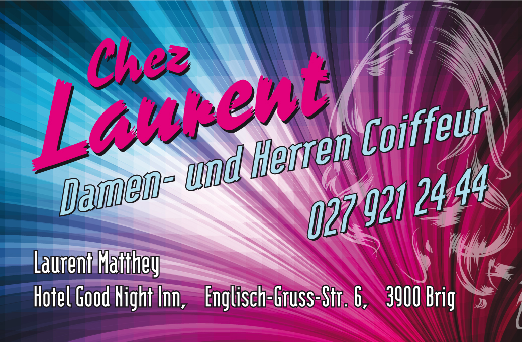 Coiffure Chez Laurent in Brig | Damen | Herren | Kinder
